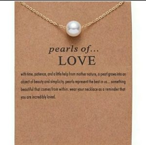 Jewelry - Pearls of LOVE Pendant Necklace